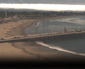 Santa Cruz Main Beach Cam