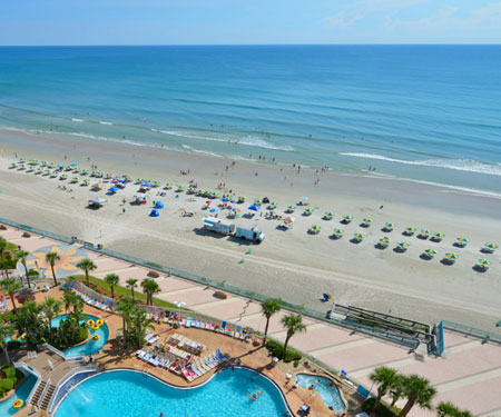 Daytona Beach Boardwalk Pier Live