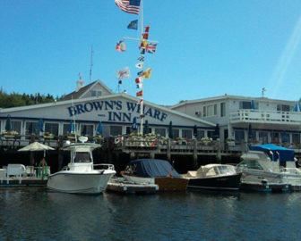 Brown's Wharf Restaurant Webcam Boothbay Harbor, Maine