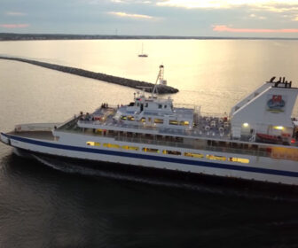 Cape May Lewes Ferry Aerial Tour
