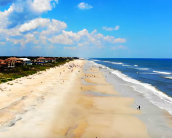 Aerial Tour of Ponte Vedra Beach, FL