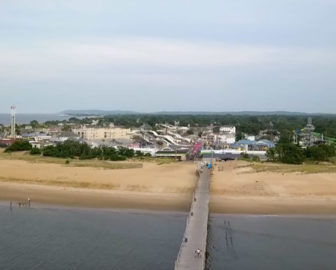 Aerial Video of Keansburg, NJ