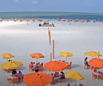 Frenchy's Rockaway Grill Live Beach Cam, Clearwater Beach, Florida