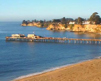 Capitola, CA live surf beach webcam