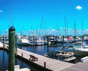 Southport NC Marina Live Webcam