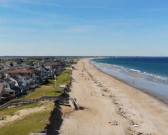 Aerial Video of Salisbury Beach, MA