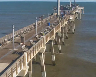 NC Aquarium Pier Cam in Nags Head