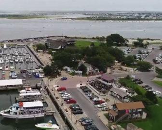 Aerial Video of Brigantine Beach