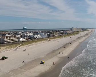 Aerial Video of Sea Isle City, NJ