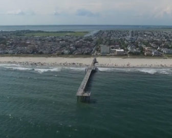 Aerial Video of Ventnor City, NJ
