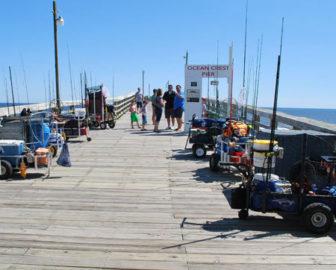 Ocean Crest Pier Live Cam, Oak Island, NC