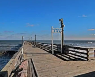 Rodanthe Fishing Pier Video
