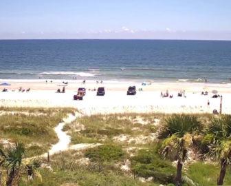 Sliders Seaside Grill Live Beach Cam Amelia Island FL