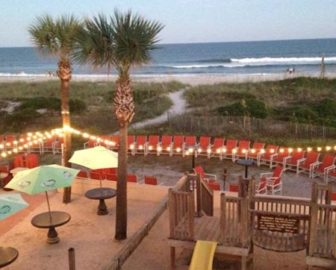 Sliders Seaside Grill Live Beach Cam Amelia Island FL