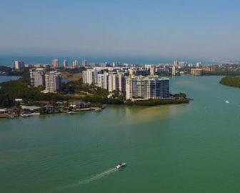 Aerial Tour of Estero Island, FL