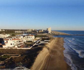 Flyover Croatan Beach, VA Aerial Video Tour