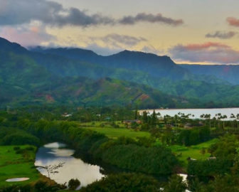 Live cam Hanalei Valley and Hanalei Organic Farm