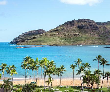Kauai Marriott Resort Webcam on Kalapaki Beach