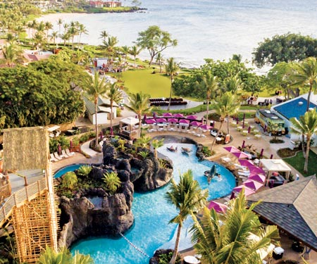 Nalu Adventure Pool Webcam at Wailea Beach Resort - Marriott