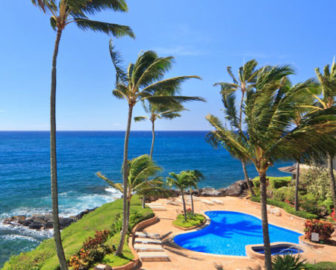 Whalers Cove Oceanfront Luxury Resort Webcam, Poipu, Kauai, Hawaii