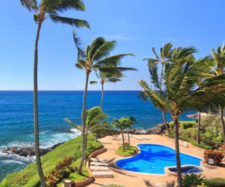 Whalers Cove Oceanfront Luxury Resort Webcam, Poipu, Kauai, Hawaii