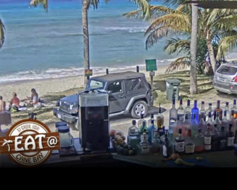 Eat at Cane Bay Live Cam - St. Croix, Caribbean Islands