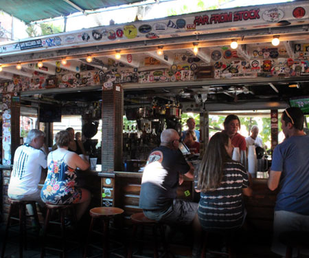 Hogs Breath Saloon Key West Bar Cam
