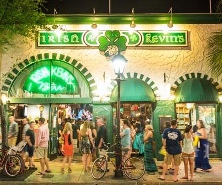 Irish Kevin's Key West Street Cam