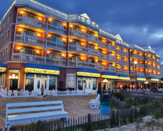 Boardwalk Plaza Hotel Live Cam, Rehoboth Beach, DE