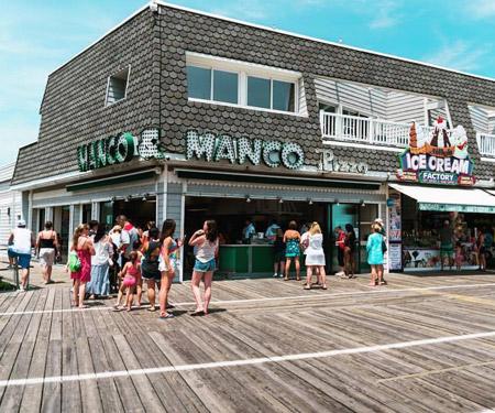 Manco & Manco Pizza Boardwalk Cam, Ocean City, NJ