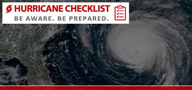 How to Prepare for a Hurricane - Hurricane Checklist