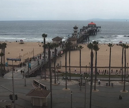 Huntington Beach Pier Cam by HBcams