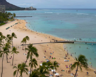 Hilton Hawaiian Village Waikiki Beach Resort Webcam, Honolulu, Hawaii