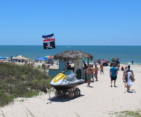 Live Webcam Blue Parrot Oceanfront Cafe in St. George Island, Florida