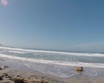 Surfing Video Blacks Beach, CA