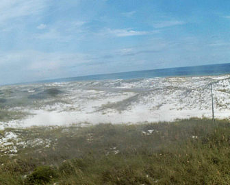 Fort Pickens Dunes NPS Webcam Pensacola FL