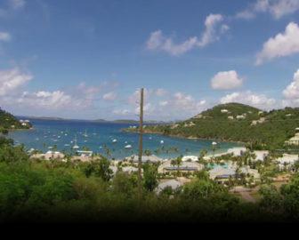 Great Cruz Bay Live Cam in St. John, U.S. Virgin Islands, Caribbean