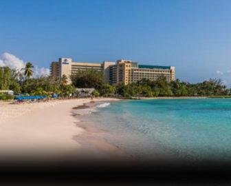 Hilton Barbados Resort Aerial Video