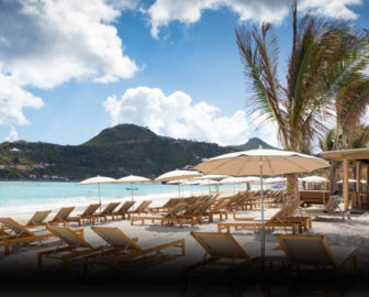 La Plage Restaurant Webcam in St Barts