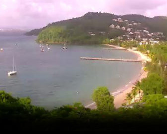 Martinique Webcam - Les Trois Ilets