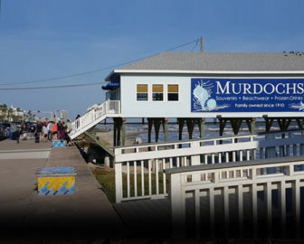 Murdoch's Bathhouse Live Webcam, Galveston Texas