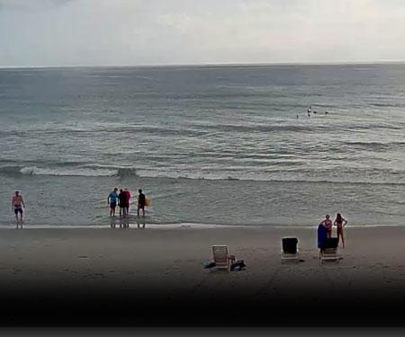 Melbourne Beach Surf Cam