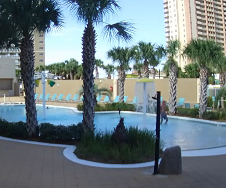 Emerald Beach Resort Pool Cam, Panama City Beach FL