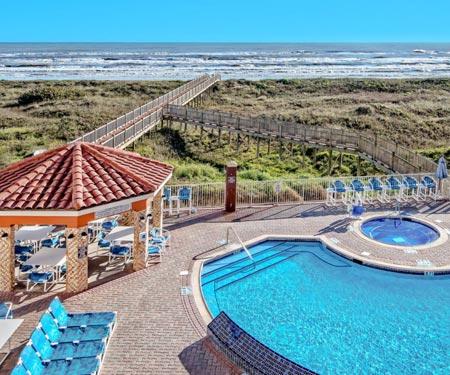 La Copa Inn Beach Hotel Webcam, South Padre Island, Texas