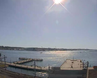 Custom House Maritime Museum Webcam, New London, CT