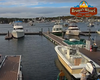 Brown's Wharf Restaurant Webcam Boothbay Harbor, Maine