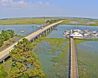 Savannah-Tybee Island Traffic Cam, Bull River Marina
