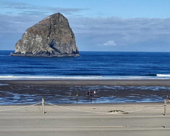 Pacific City Haystack Rock Webcam