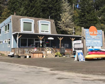 Caspar Beach Campground Webcam, Mendocino CA