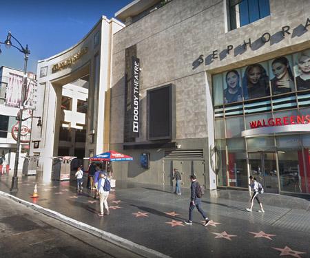 Hollywood Walk of Fame Webcam, Los Angeles CA